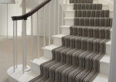 David Marks Brockway striped-stair-carpet